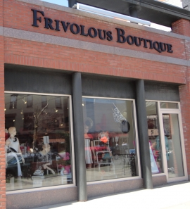 Saratoga's own Frivolous Boutique